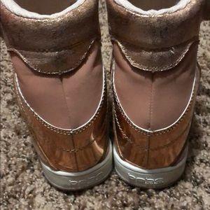 bebe Shoes - Bebe Metallic Wedge Sneakers